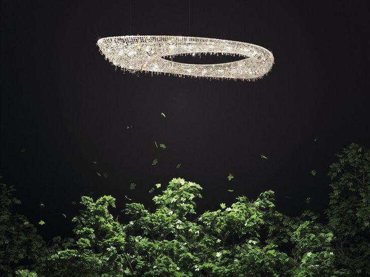 ARTICA Crystal pendant lamp by Manooi #crystalchandelier #lightingdesign #interior #chandelier #coollamps #luxury #Manooi