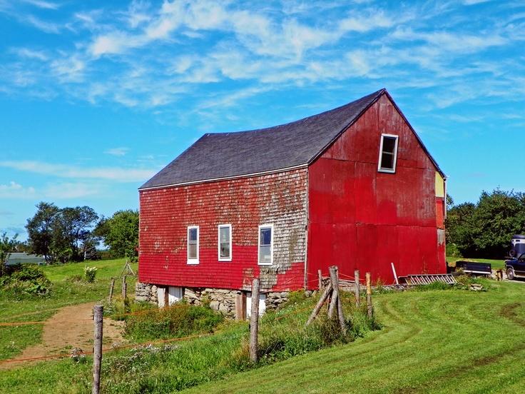 Cape Breton Island - Red Barn - Alder Point, NS Cape Breton