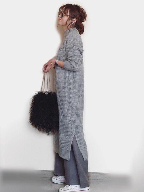 mii しまむらのワンピースを使ったコーディネート wear ワンピース しまむら ファッションスタイル 日本のファッションスタイル