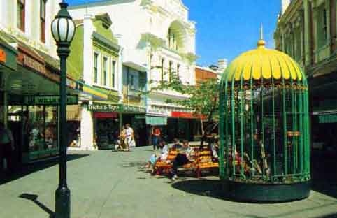Launceston - The Quadrant Mall in the late 80's