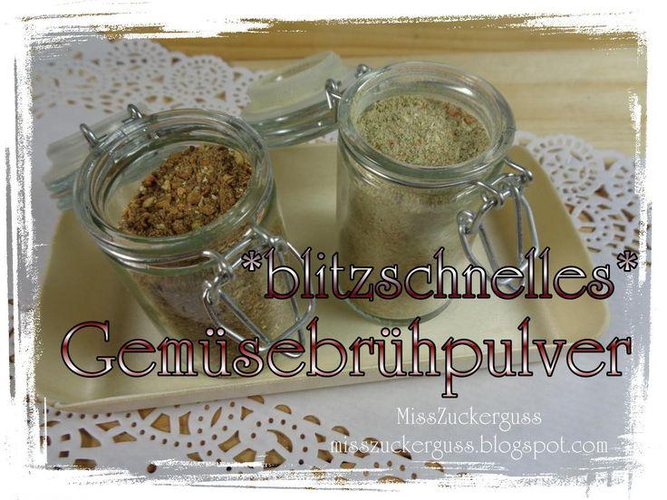 [Rezept] stell dir ein Würz- und Brühpulver aus Gemüse her - schnell und einfach gemacht (ohne Geschmacksverstärker und Hefe)