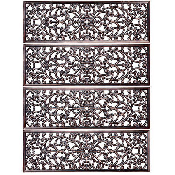 Best Improvements Windsor Scroll Antique Copper Rubber Stair 640 x 480
