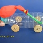Esperimenti scientifici per bambini: automobiline con motore ad aria