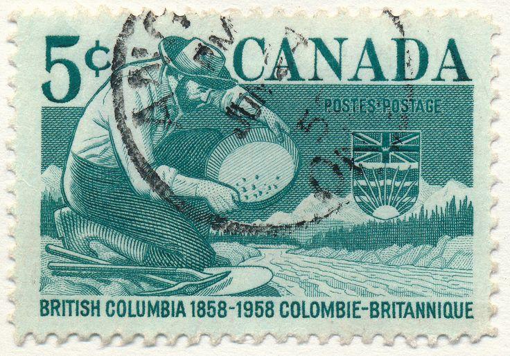 British Columbia, Gold Rush (issued 1958)