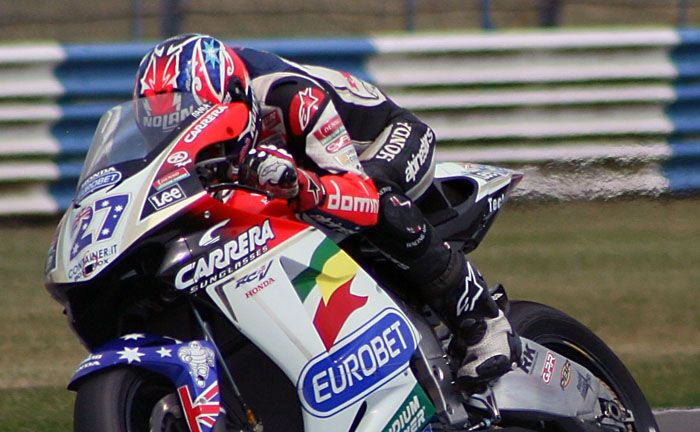 Casey Stoner @ Donington MotoGP 2006