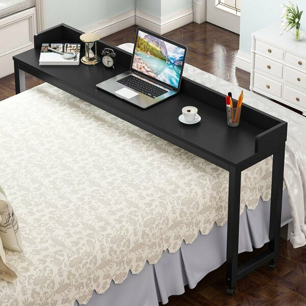 Yuriko Overbed Writing Desk In 2020 Overbed Table Mobile Desk Writing Desk