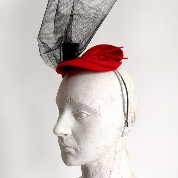 VANIA Fascinator hat made by Eventivity Accessorize