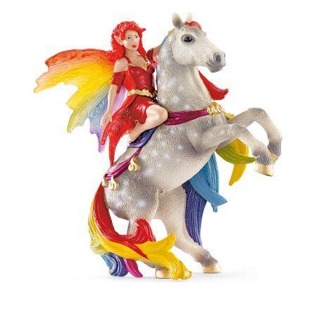Schleich Amisi Fairy Elf Toy, Multicolor