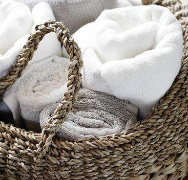Idee opbergen handdoeken
