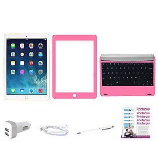 Apple iPad Air2 Wi-Fi 32GB w/ Bluetooth Keyboard & Vouchers