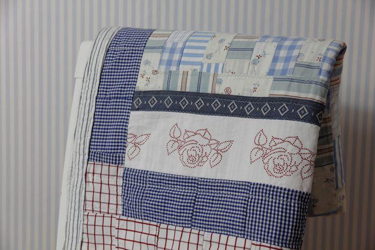 patchwork błękitno-różowy w OFFU shop na DaWanda.com