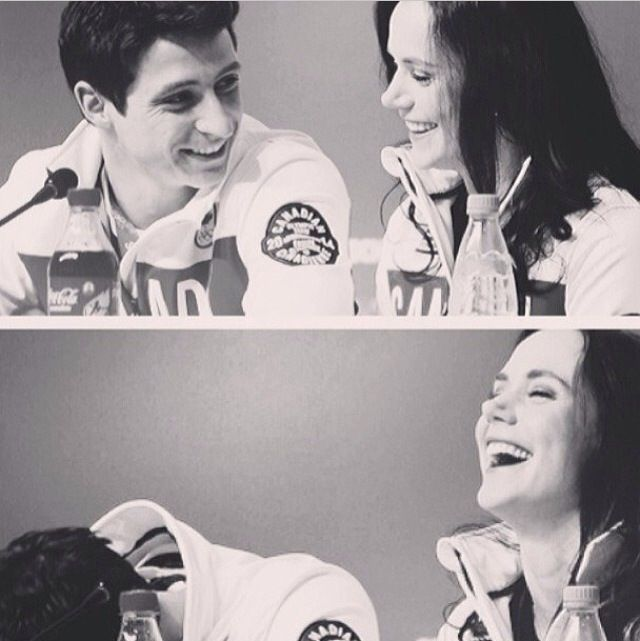 Tessa and Scott. Too cute, love their smiles! Just have babies already!!