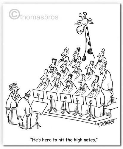 he's here to hit the high notes | Choir Fun | Pinterest ...
