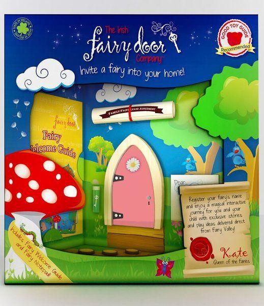 Irish Fairy Door -Colour option available