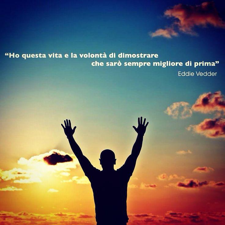"""Ognuno di noi dovrebbe pensarci! #cit Eddie Vedder (da """"Into The Wild, """"Long Nights"""")   #life #success #citazione #musica"""