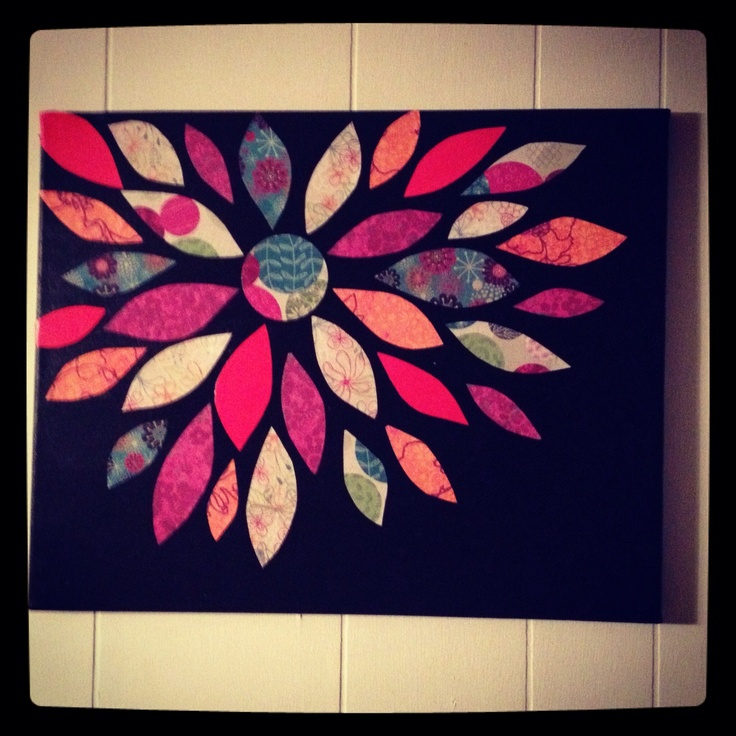 Best Canvas Painting Images On Pinterest Canvas Art Canvas - Black canvas painting ideas