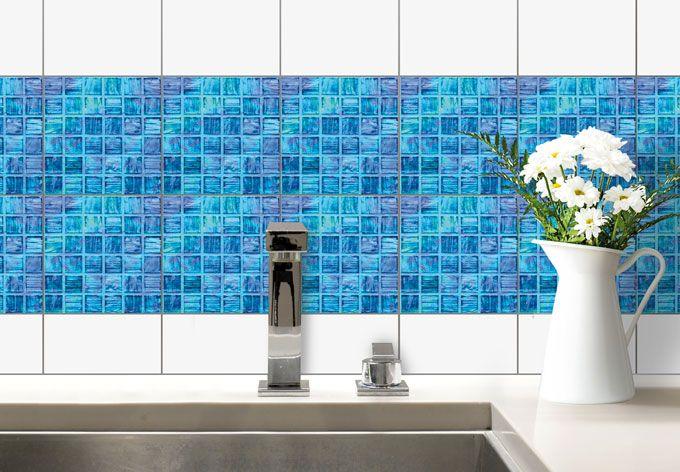 Decorazione per piastrelle - mosaico di vetro