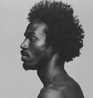 man's face and neck in profile