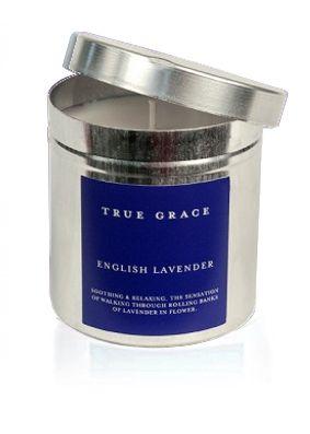 True Grace English Lavender Tin Candle