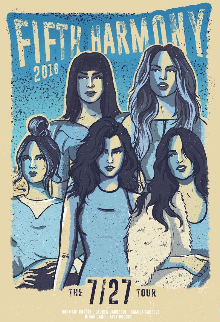 "Confira este projeto do @Behance: ""Official 7/27 Tour Poster - Fifth Harmony 2016"" https://www.behance.net/gallery/42076029/Official-727-Tour-Poster-Fifth-Harmony-2016"