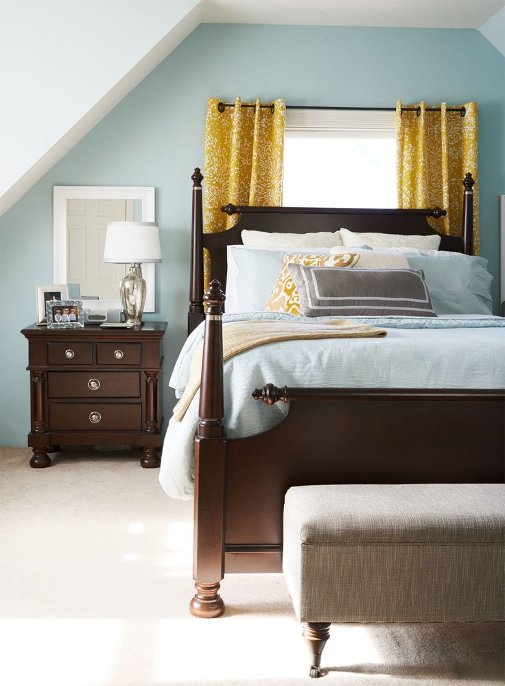 Before and After: From Cluttered Bedroom to Restful Retreat  - CountryLiving.com