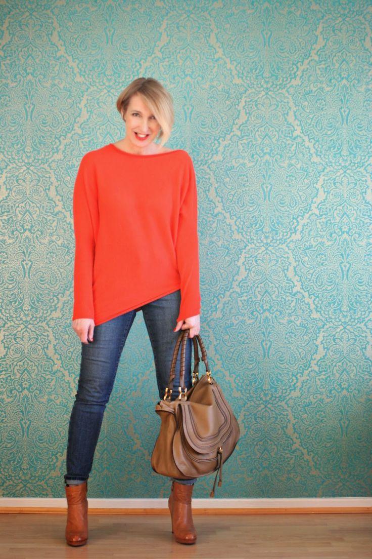 Glam up your Lifestyle : Jeans mit Kaschmir-Pullover von neyo.