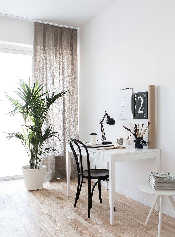 small desk space