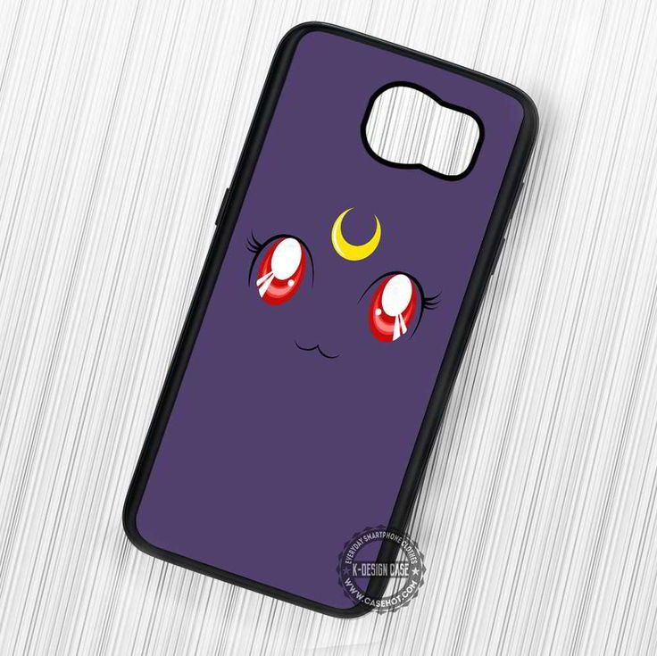 Sailor Moon Luna Cat Anime - Samsung Galaxy S7 S6 S5 Note 7 Cases & Covers