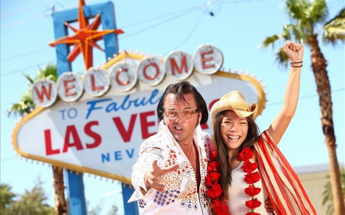 Las Vegas Elvis impersonators