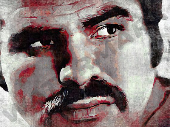 Burt Reynolds Art Print  Deliverance Oil Painting Poster