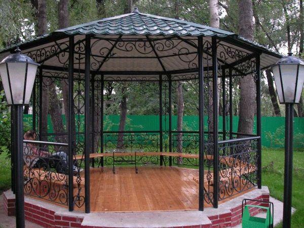 Беседки Для Дачи в Москве: из дерева, из металла - цены