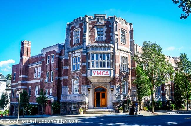 The Rockland YMCA. Located in downtown Nyack, New York