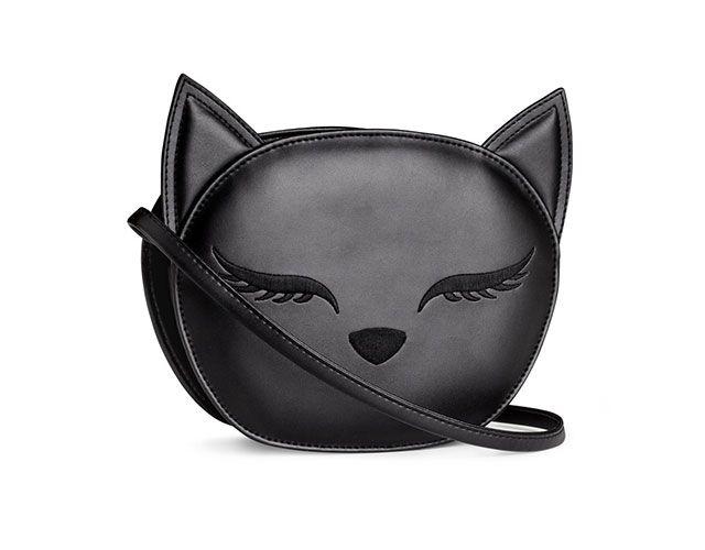 Cat cross-body bag $19.95/Sac à main à effigie de chat 19,95$