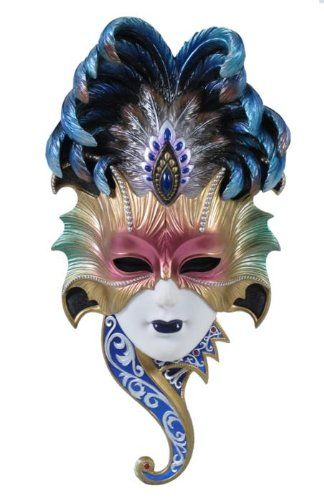 Venetian Style Carnival Wall Masks | WebNuggetz.com