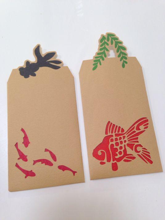 金魚のぽち袋 by NNE 文房具
