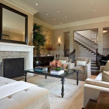 Bar harbor beige living room color home decor for Living room 507