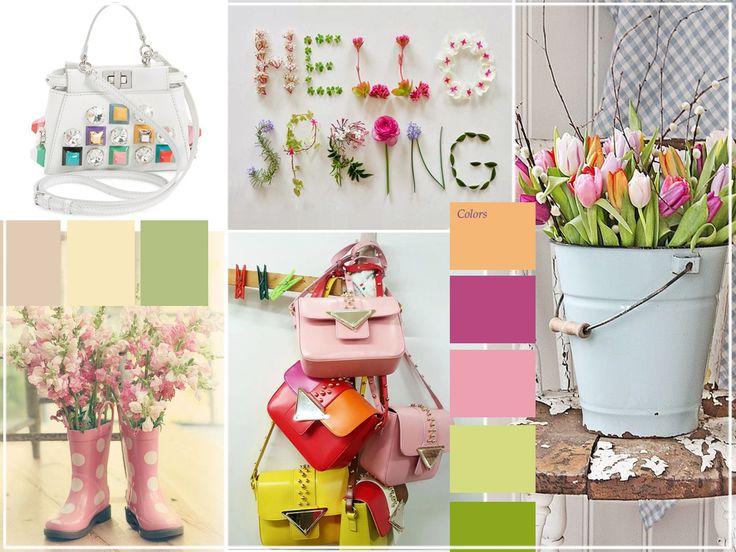 Hello Spring, Colori Pastello, Flowers