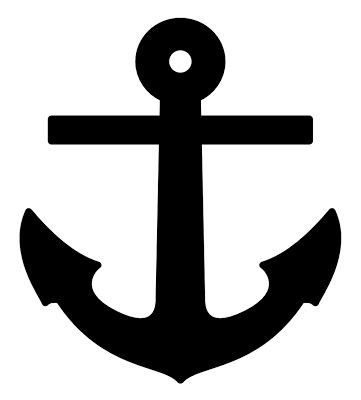 Free SVG File_Anchor Embellishment_Fishing_Water_Boat