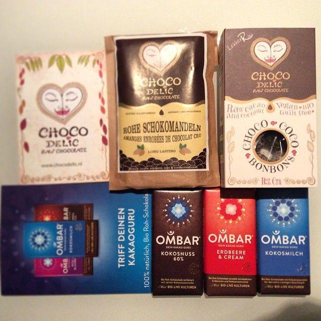 CHOCOdelic products. YUMMIE Raw chocolate!