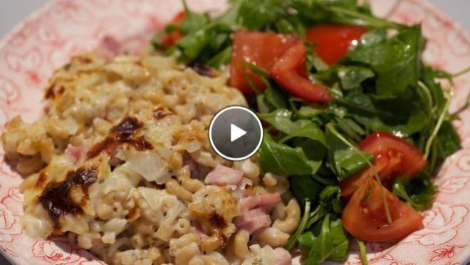 Macaroni met ham en kaas uit de oven - recept   24Kitchenhttp://www.24kitchen.nl/recepten/macaroni-met-ham-en-kaas-uit-de-oven