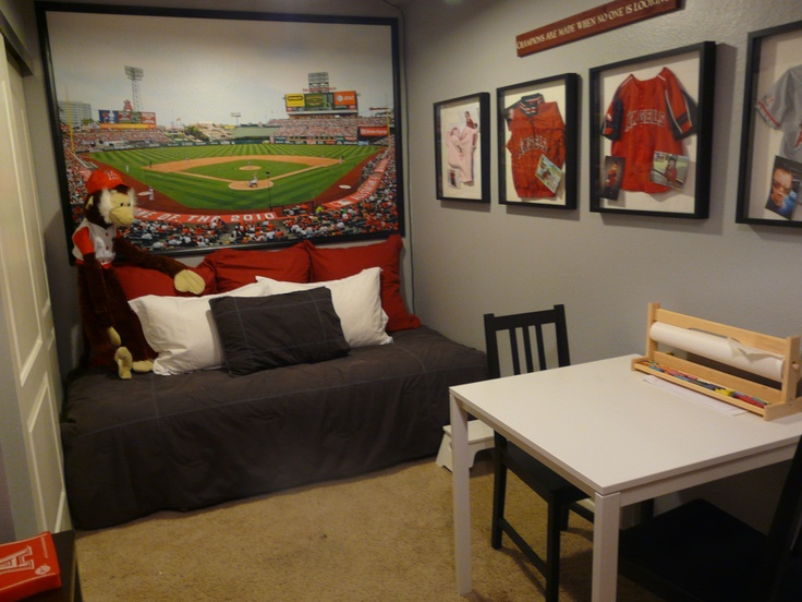 Angels Baseball Playroom For My Grandkids