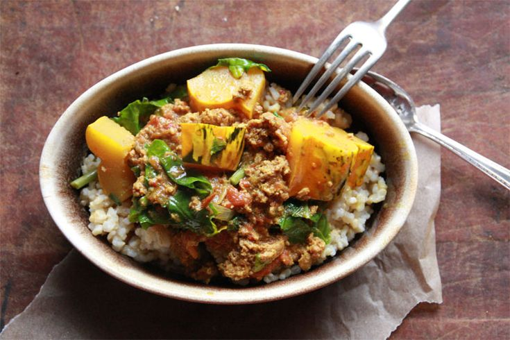 Something different (and delicious) with ground beef: Slowcooker Beef Curry for maintenance after the Fast Metabolism Diet