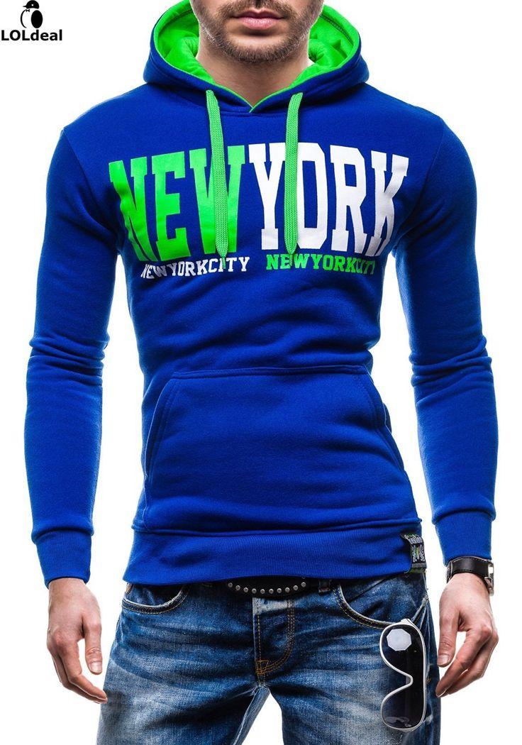 >> Click to Buy << Casual Hoodie Men's 2017 Spring Men's Hooded Sweatshirt Cotton Lycra Long Hooded Hoodies #Affiliate