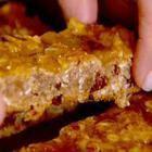 Recipe photo: No added sugar apple oat flapjacks