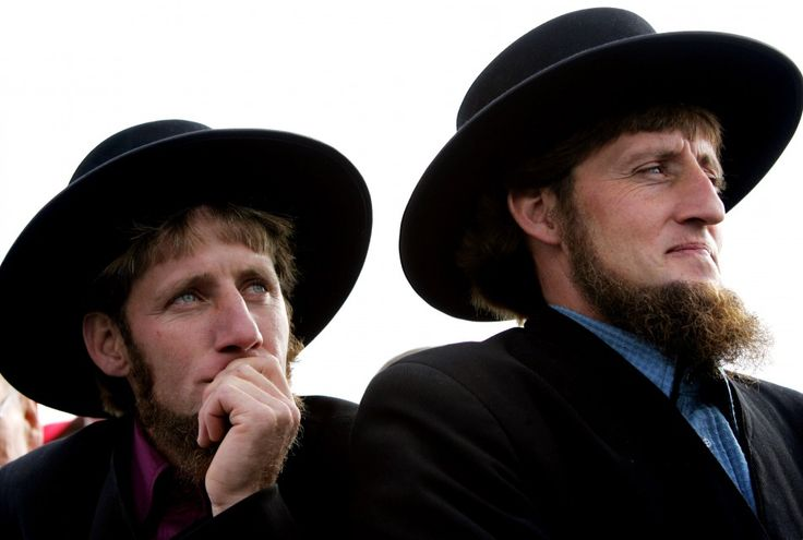 Once married, Amish men never trim their beards