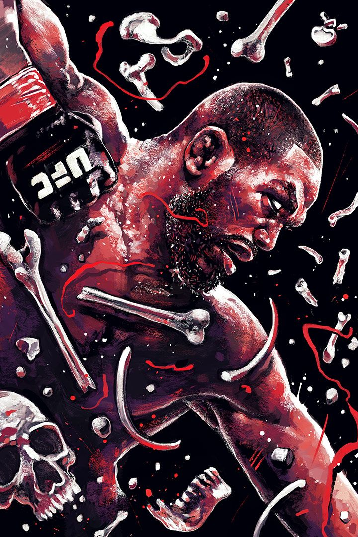 "Jon ""Bones Jones by Gian Galang"