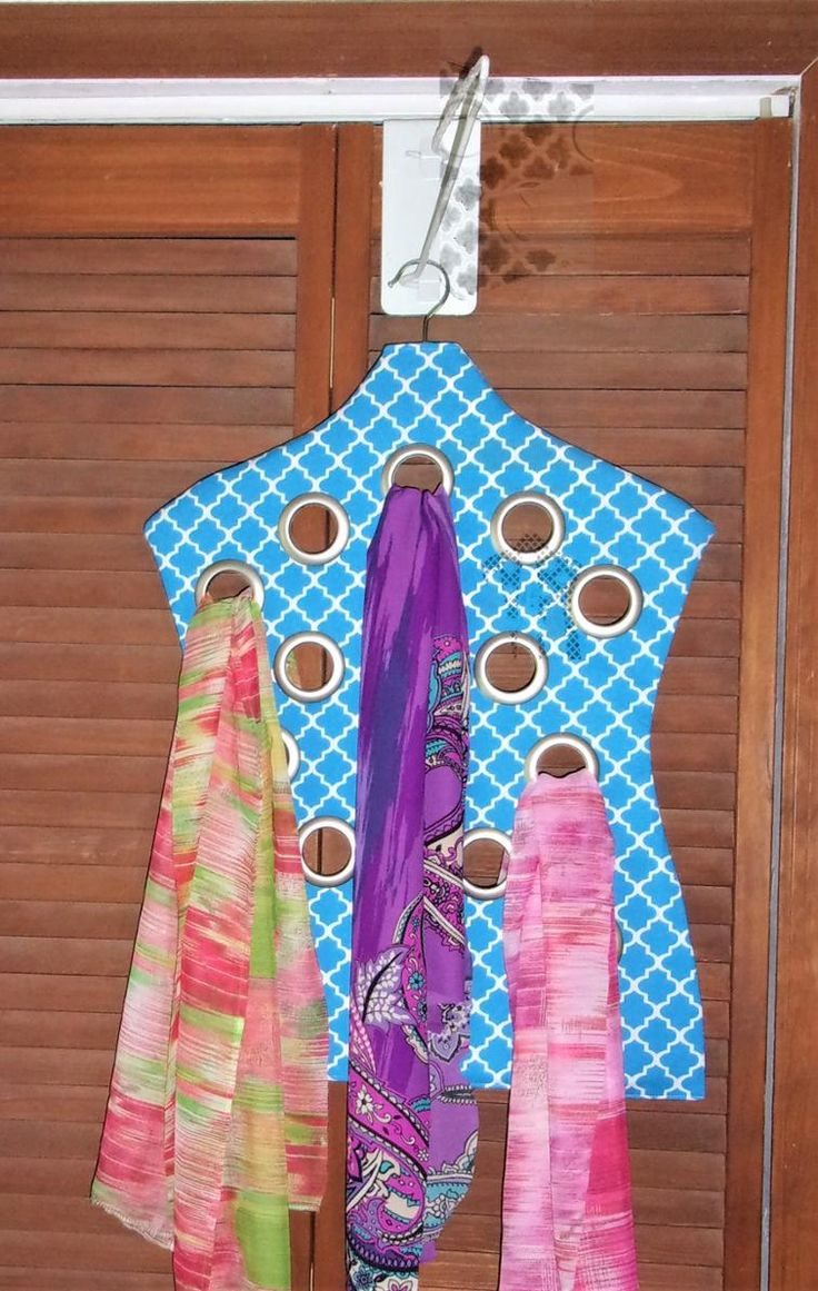 25 best ideas about hanging scarves on hang
