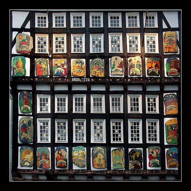 Advent Calendar, Hattingen, Germany