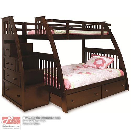 Ranjang Anak Susun Jati Minimalis - Model Ranjang anak dari kayu jati ,Ranjang Anak Susun Jati Minimlismerupakan salah satumodel tempat tidur anak tingkaty