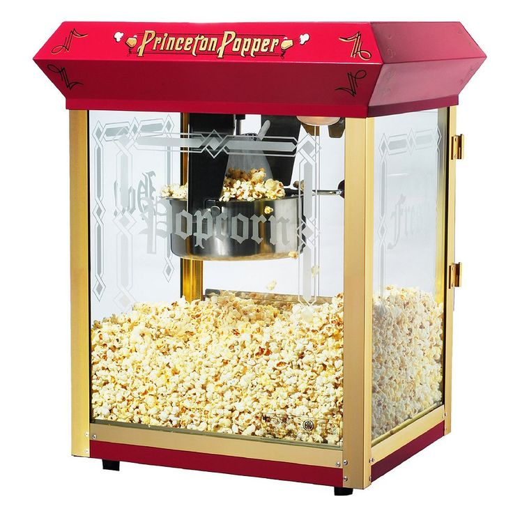 Great Northern Princeton Tabletop Popcorn Machine, Red